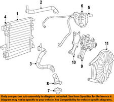 CHRYSLER OEM-Engine Coolant Thermostat Housing 5184651AH