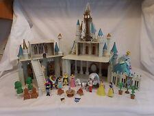 Disney World Monorail Cinderella Castle Magic Kingdom Lights and Sounds + Music