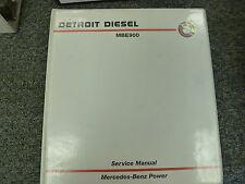 Detroit Diesel Model MBE900 Diesel Engine Shop Service Repair Manual Book