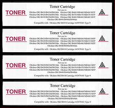 4pk 43979101 Toner Cartridge for Okidata OKI B430 B430d B430dn B440 B440d B440dn