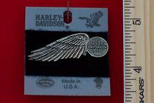 """Harley Davidson """"Winged Wheel"""" Pin """"Antiqued Nickel""""-H709N-P"""