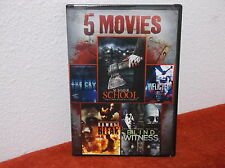 5-Movie Horror Pack, Vol. 5 (DVD, 2014)