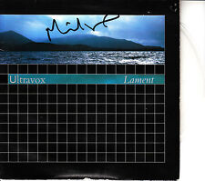 "Ultravox - Lament UK 7"" Autographed by Midge Ure inc COA Gatefold PVC2 Slik"
