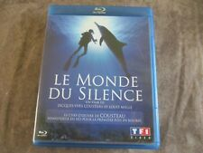 "BLU-RAY ""LE MONDE DU SILENCE"" documentaire Jacques-Yves COUSTEAU & Louis MALLE"
