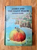 1ST UK EDITION of JAMES AND THE GIANT PEACH 1967 ROALD DAHL (MATILDA, BFG) FIRST
