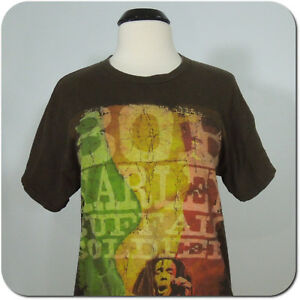 BOB MARLEY Buffalo Soldier Men's Vintage Cotton T-Shirt, Short Sleeves size M