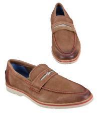 NEW $298 Mens ROBERT GRAHAM Brown Suede Leather GANSEVOORT Slip-On Loafers Sz 8