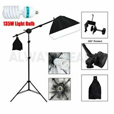 Photography Studio Overhead Boom Arm Light Stand w/ Grip Head For Softbox Light