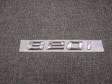Chrome Trunk Number Letters Emblem Emblems Badge Badges Sticker for BMW 320i