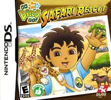 GO DIEGO GO SAFARI RESCUE KIDS GAME NINTENDO DS DS LITE 3DS 2DS DSI 3DS XL PAL