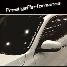 Auto SUV JDM Prestige Performance Hellaflush Windshield Vinyl Car Sticker Decal