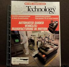 High Technology Magazine back issue December 1986 Computers Automated Vehicles