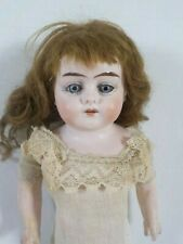 Antique French or German Bisque Head Doll Special 10/0 14 Inches Tall