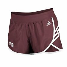 "Miami Hurricanes Women's Adidas Mini Leg Logo 2"" Ultimate Shorts"