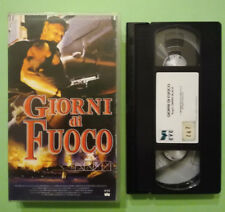 VHS FILM Ita Azione GIORNI DI FUOCO Dolph Lundgren ex nolo no dvd cd lp mc(V153)