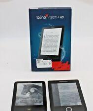 2er Set e-Book, PocketBook PB614W & tolino vision 4 HD ungeprüft-defektA
