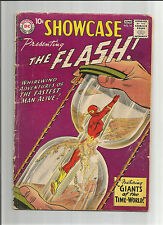 SHOWCASE #14 Silver Age DC! Fourth appearance of FLASH!