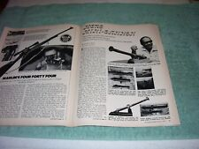 Guns and Ammo Magazine May 1971 (5/71) S&W 1917, Marlin 444, Mini Cannon