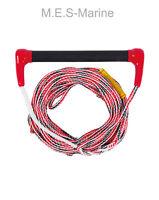 JOBE SKI ROPE SKI COMBO TRANSFER HANDLE 60 FEET LINE WAKEBOARD KNEEBOARD - RED