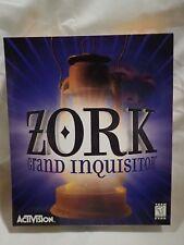 Zork: Grand Inquisition (PC CD) Complete Big Box Adventure, FMV ahoy