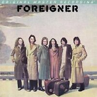 FOREIGNER - SELF TITLED - S/T - HYBRID SACD - Mobile Fidelity #'d CD