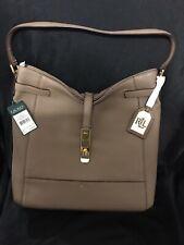 Ralph Lauren Darwin Hobo Handbag In Truffle Authentic New With Tags.
