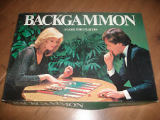 Vintage Backgammon Game Wooden Pieces 1980's Michael Stanfield Nice Set Free P+P