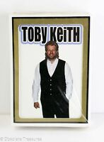 Vtg early 90s TOBY KEITH Retro Hair Embarrassing Portrait Playing Cards