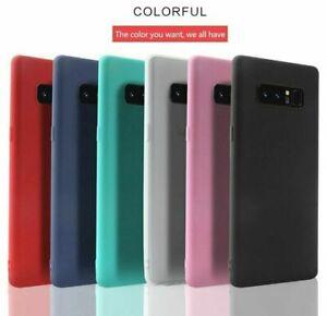 For Galaxy S10 S10+ 5G S10e S9 S8 S7 Note 9 Ultra Thin Skin Matte TPU Case Cover