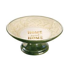 "Grasslands Road - Celtic Traditions - Home Sweet Home"" Pedestal Dish - 474332"