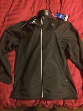 Mizuno Elixir Impermalite Proof Plus Men's Large Black Jacket Running Reflective