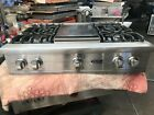 """36"""" Viking Stainless Range, 4+ griddle sealed in Los Angeles photo"""