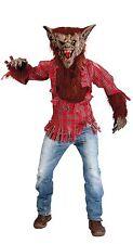 Costume Carnevale/Halloween Uomo Lupo+maschera e artigli 80306 tg. Unica/NUOVO