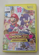 MARIO & SONIC AT THE LONDON 2012 OLYPIC GAMES WII PAL