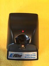 E FLITE 1- cell 3.7 0.3A DC  1 s. 150 to 250 mAh 25 c li- po charger by HORIZON
