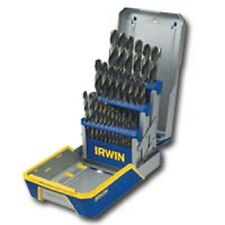 Irwin Hanson 3018002 29 Piece Cobalt Drill Bit Set M35 Hardness