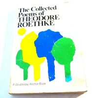 THE COLLECTED POEMS OF THEODORE ROETHKE-1975 PB PULITZER WINNING AUTHOR-