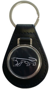 Mercury Cougar Keyring Leather Fob 1967 1968 1969 1970 1971 1972 1973 XR7 289 V8