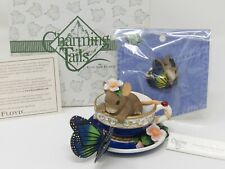 Charming Tails Dean Griff Friendship Is Your Special Tea Figurine & Pin 898/308