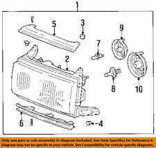 TOYOTA OEM 95-97 Land Cruiser-Headlight-Head light Headlamp Assy Left 8115060215