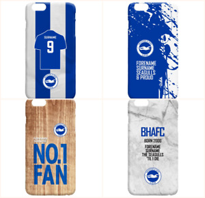 Personalised Brighton & Hove Football Club FC Phone Case iPhone Samsung Cover
