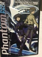 PHANTOM THE ANIMATION DVD JAPANESE ANIMATION DOUBLE PACK BRAND NEW SEALED