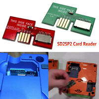 For NGC GameCube Serial 2 SD2SP2 SDLoad SDL Card Reader Memory Card Adapter