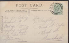 Family History Postcard - Roughley - Bank Street Cafe, Manchester RF975