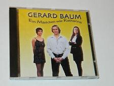 CD alsace GERARD BAUM Ein Mädchen wie Katharina 12 TITRES Jean-Yves Haeflinger