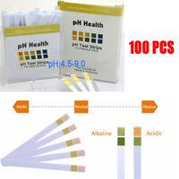 PH-Teststreifen 4.5-9.0pH Wert Test Indikator Papier Indikator Streifen 100pcs