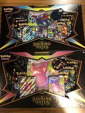 2x Lote De Caja Brillante FATES Premium Colección Crobat & Pokemon dragapult Sellado