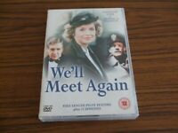 WE'LL MEET AGAIN Complete Series 4-Disc DVD Boxset Susannah York Michael Shannon