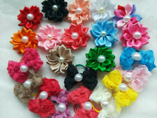 40pcs Dog Hair Bows With Rubber Bands for Cat Puppy Hair Accessories
