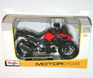 Maisto - SUZUKI V-STROM - Motorcycle Model Scale 1:12